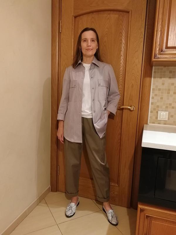 Блузка-рубашка от tgovorukhina