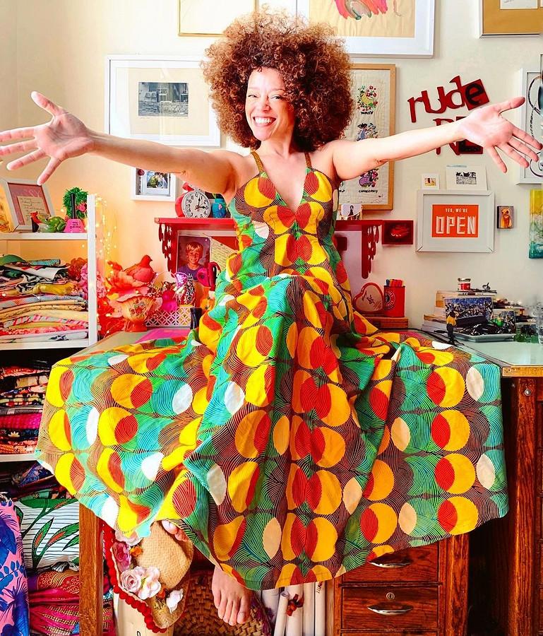 Когда я неиграю, непою ине танцую, я шью: швейный instagram недели