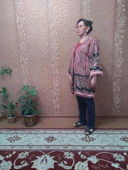 Работа с названием Жакет-кимоно или кардиган