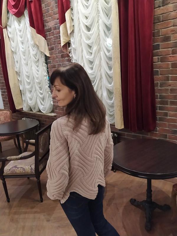Любимый свитер втехнике энтрелак от Olga_2021