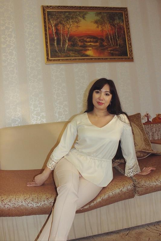 Шёлковая блуза «Полина Сергеевна» от valerka33