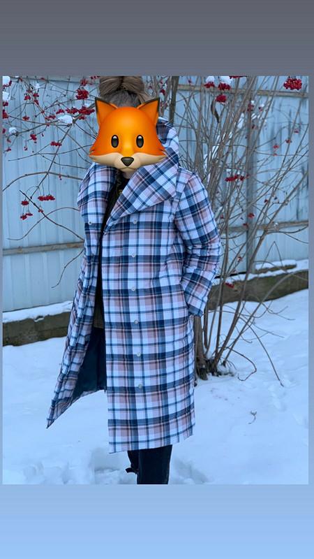 Стеганное пальто от I_RUS