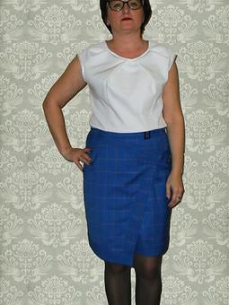 Работа с названием Асимметричная юбка