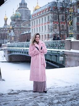 Работа с названием Ленинградская шуба