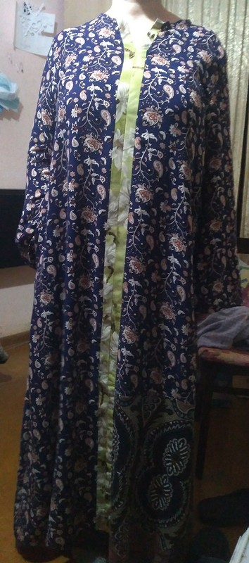 Домашнее платье изштапеля