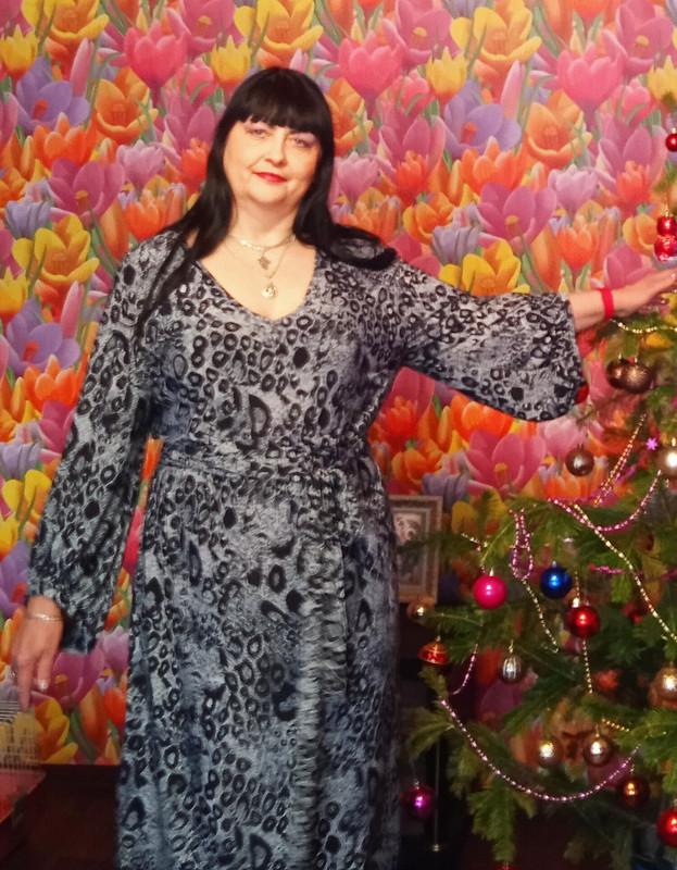 Платье повыкройке блузки