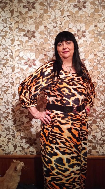 Платье изтрикотажа