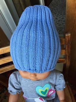 Работа с названием Хлопковые шапочки-бини
