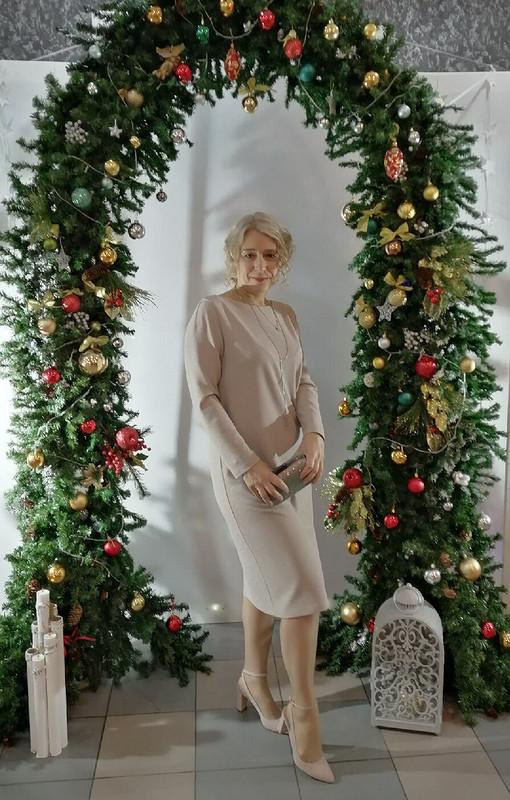Платье слюрексом наНовый год
