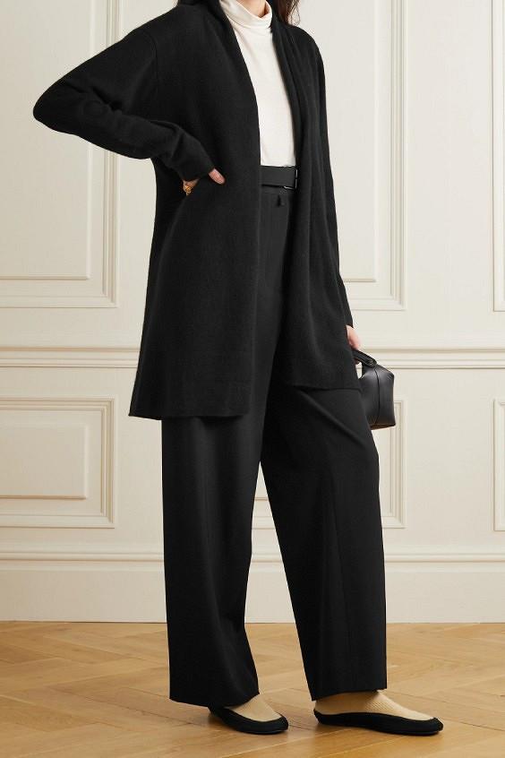 С чем носить кардиган оверсайз, чтобы выглядеть изящно: 7 современных образов, которые неполнят