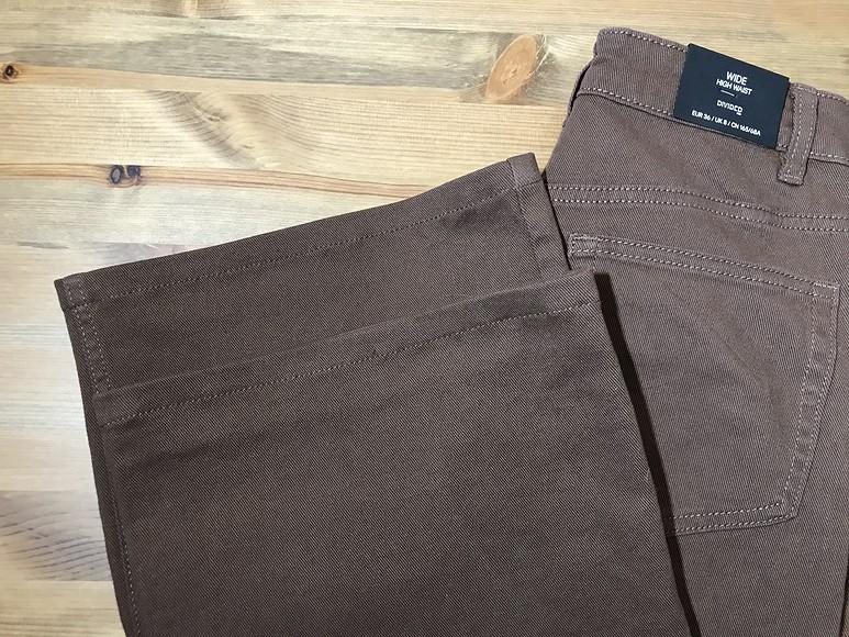 Как укоротить иподшить широкие брюки вджинсовом стиле