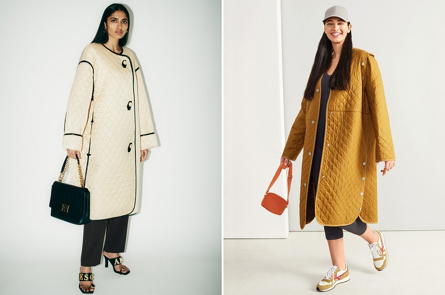 Подиум VS Burda: шьём стёганое пальто отEscada