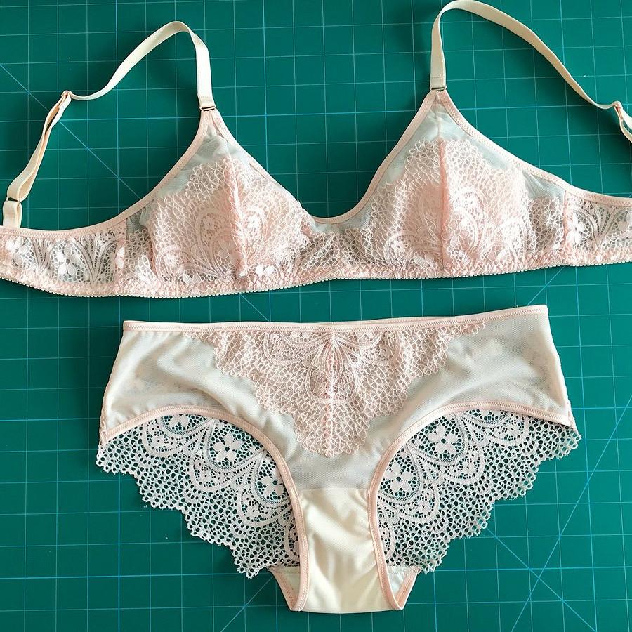 Если увас была напряжённая рабочая неделя — сшейте себе красивое бельё: швейный instagram недели