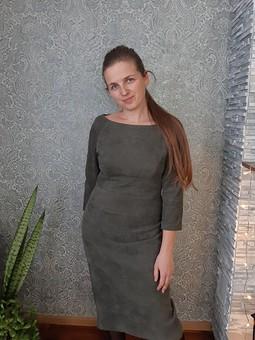 Работа с названием Лаконичное платье