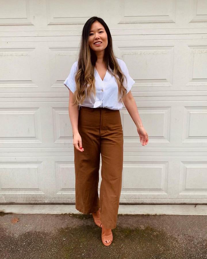 Прелесть шитья втом, что вы получаете одежду, которая отлично вам подходит: швейный instagram недели