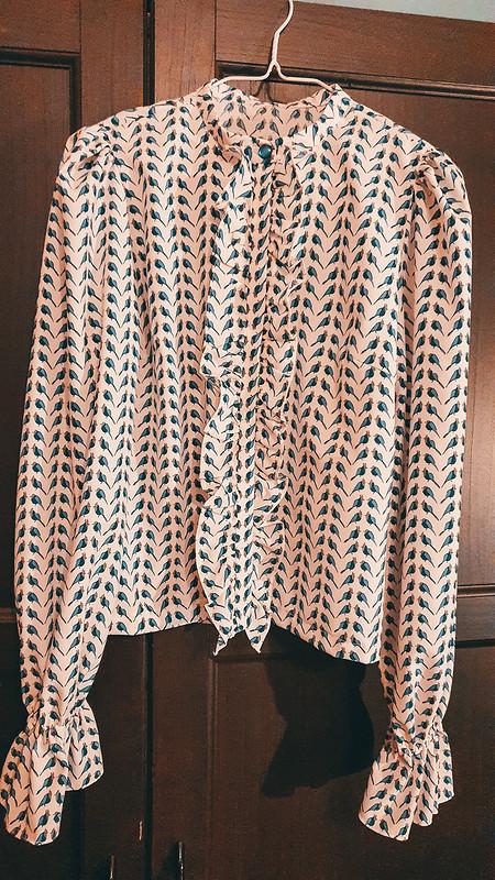 Озорная блузка встиле 70-х от Martisha Tisha