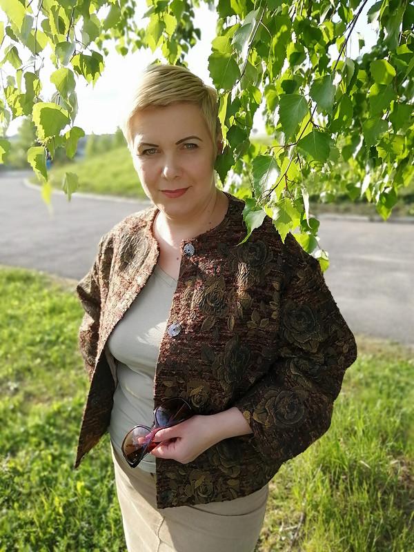 Два жакета поодной выкройке от Елена  Никитенко