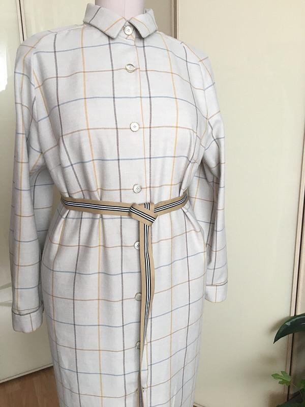 Фланелевое платье-рубашка от Светлана  Подлипная
