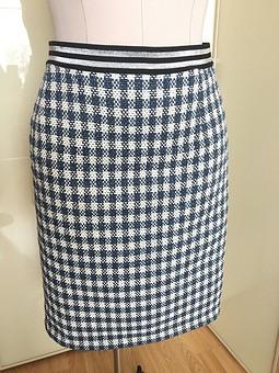 Работа с названием Твидовая юбка на резинке