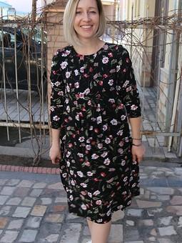 Работа с названием Новое весеннее платье