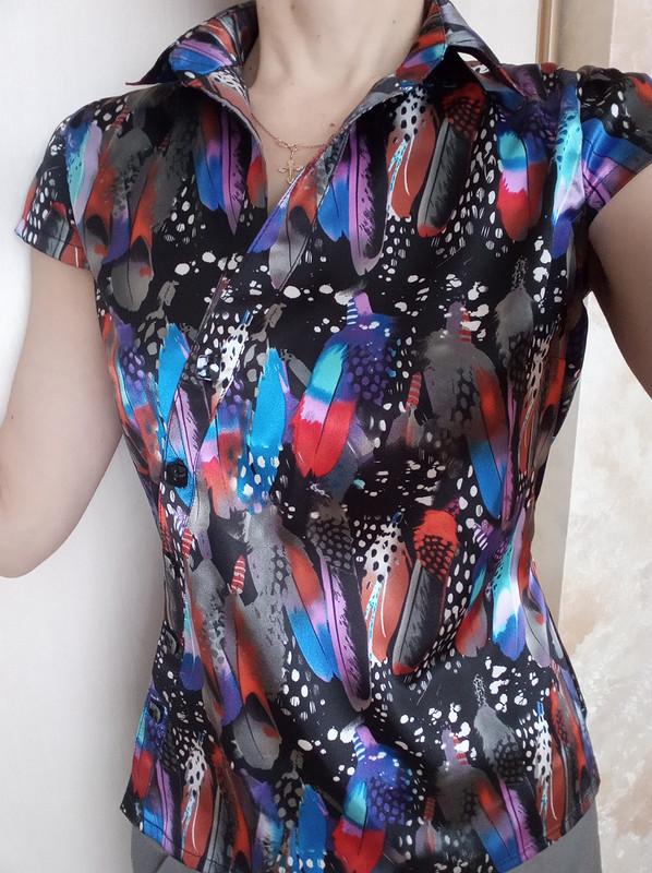 Блузка «Атлас вперьях» от NatalyaM1971