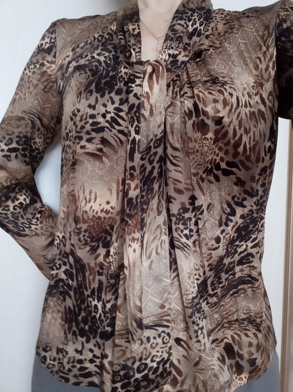 Атласная блузка от NatalyaM1971