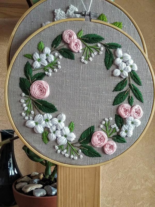 Вышивка «Весна» от DariaDanja