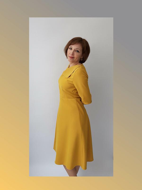 Платье «Модный цвет 2021» от Nebesnaia_ptichka