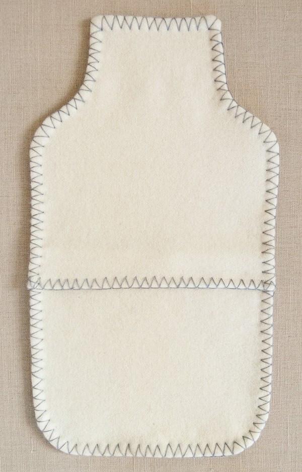 Идея: лаконичный чехол длягрелки сотделкой декоративным швом