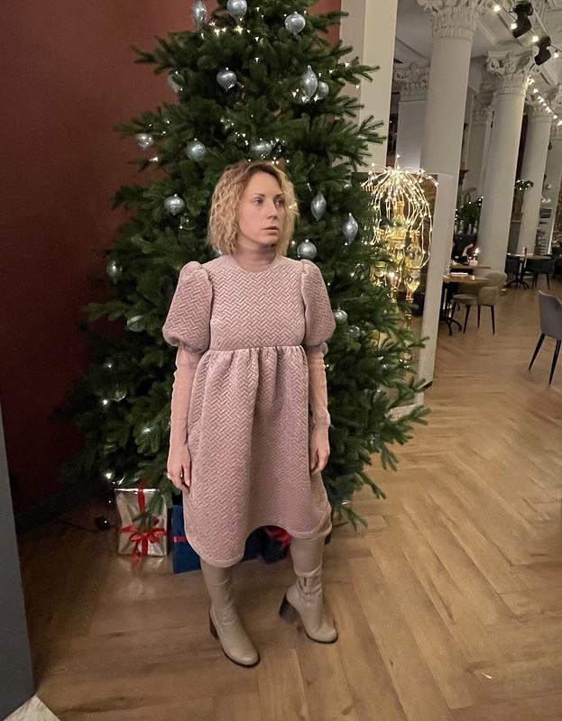 Зимнее платье от Eliza_feya