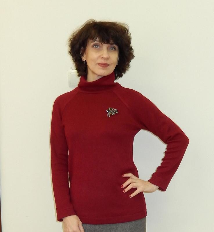 Утепляемся! Пуловер от julia.golubkova
