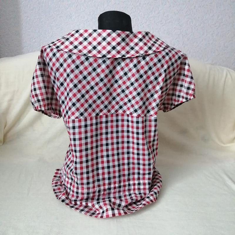 Блузка ретро имного клеточек от MilanaM