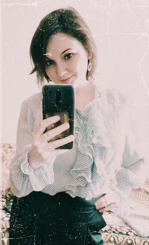 Гороховая блуза от 8alentina
