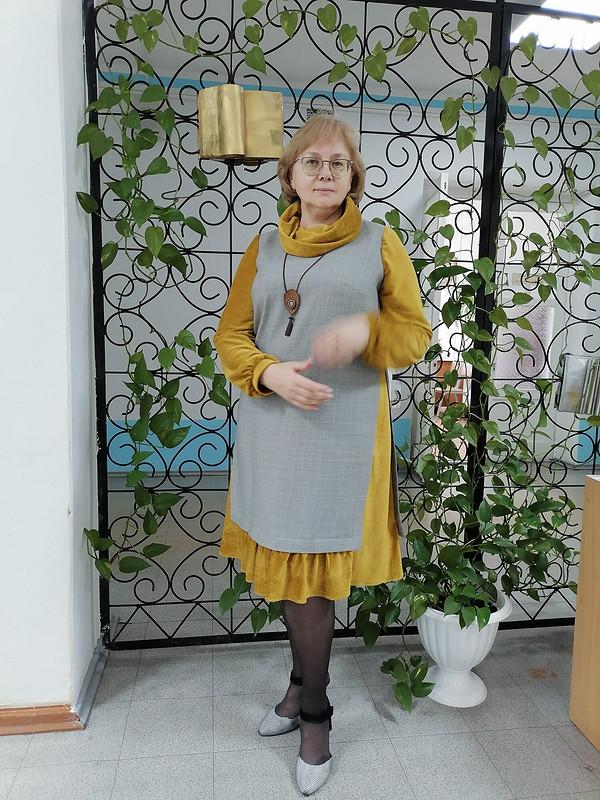 Платье-обманка от Taura