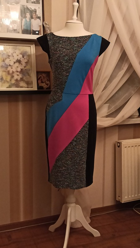 Платье «Мой первый опыт апсайкла» от IrLisa