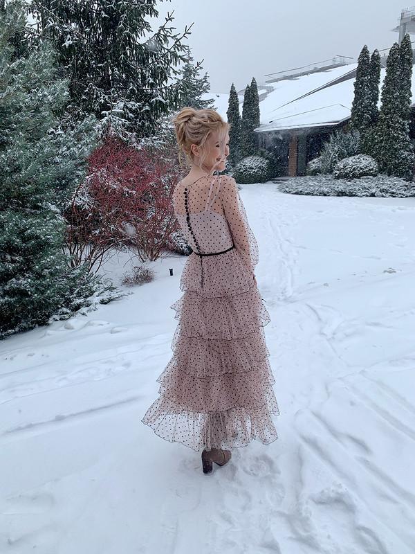 Винтажное вечернее платье от @axma_atelier