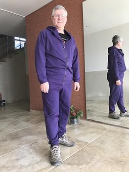 Работа с названием Мужской спортивный костюм
