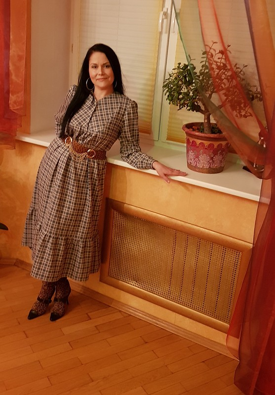 Платье спластроном от Iyuska