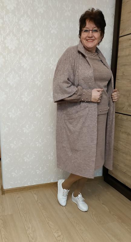Мой любимый кардиган (пальто изБурда 2/2021) от STI