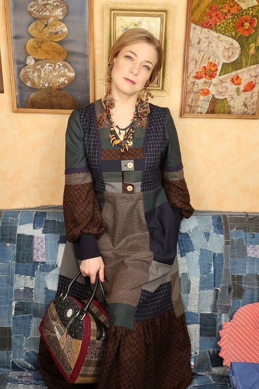 Лоскутное платье от MilaBort