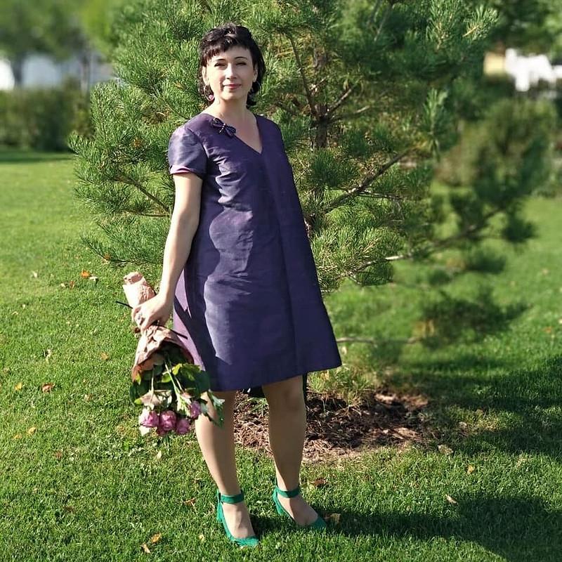 Платье изшелковой тафты от MilaBort