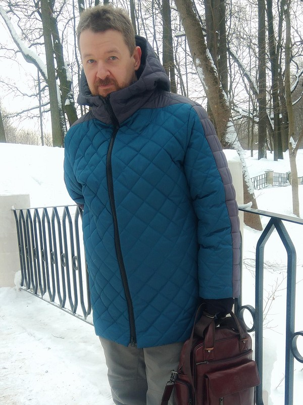 Куртка «Уютный домик» от Natalia F