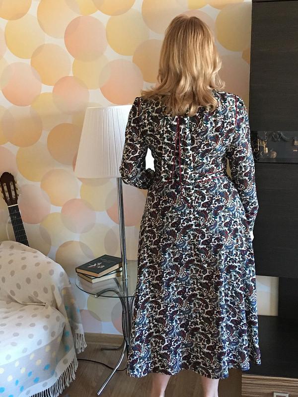 Платье макси изштапеля от SvetlanaNaumova