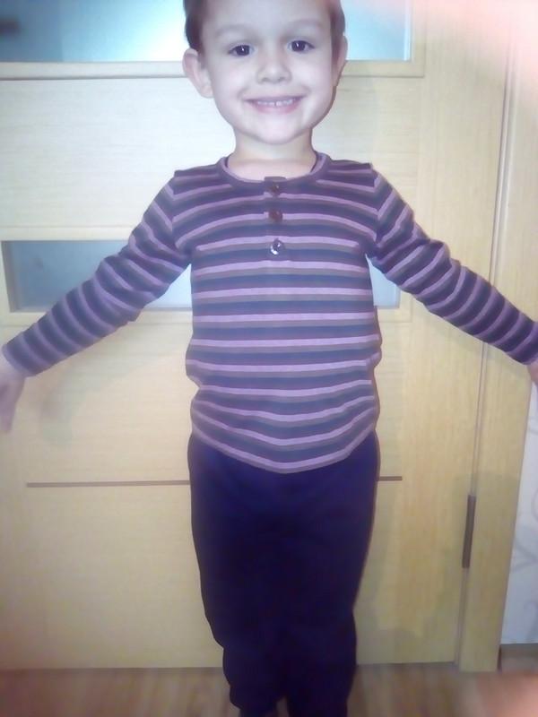 Пуловер изостатков от Татьяна1969