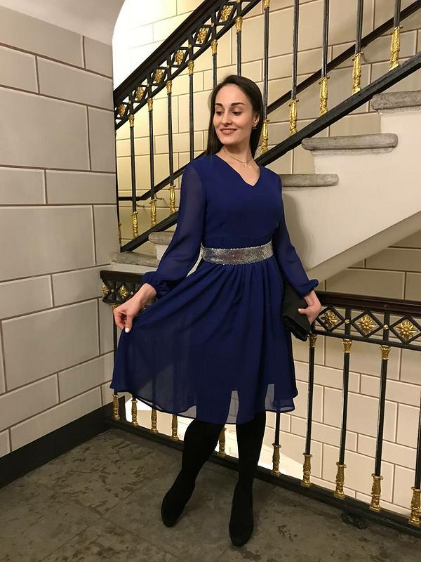 Платье изшифона от Olga_2021