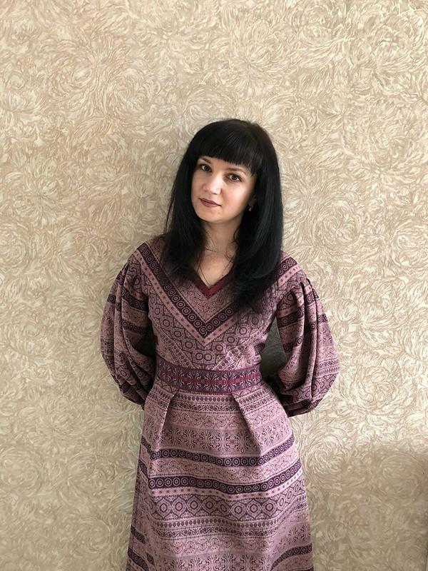 Платье изжаккарда от Anilena