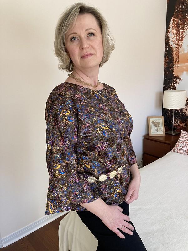 Шелковая блузка от Екатерина Ю