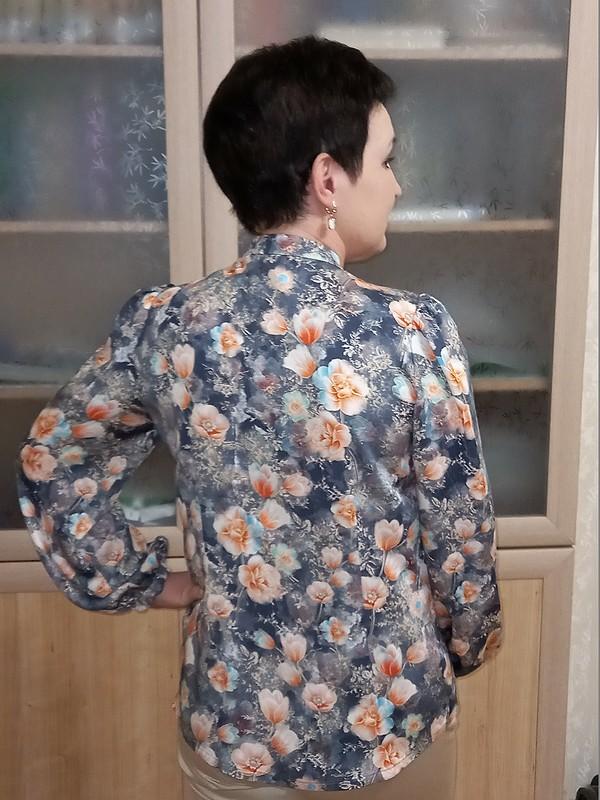 Весенняя блузка от Людмила @m.madmuasel