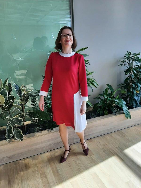 Платье «Дубль-2, или Наработу врозовом» от arle9