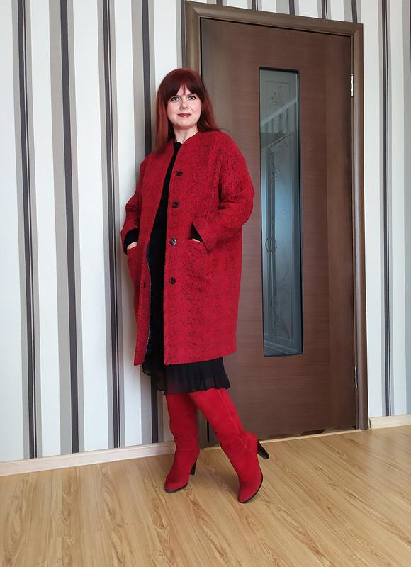 Тёплое пальто от Елена Мамонтова
